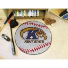 "27"" Round Kent State Golden Flashes Baseball Mat"