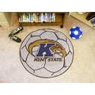 "27"" Round Kent State Golden Flashes Soccer Mat"