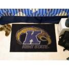 """Kent State Golden Flashes 19"""" x 30"""" Starter Mat"""