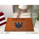 "34"" x 45"" Mercer (Atlanta) Bears All Star Floor Mat"