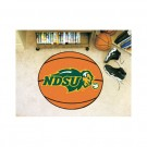 "North Dakota State Bison 27"" Round Basketball Mat"