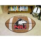 """22"""" x 35"""" Northern Illinois Huskies Football Mat"""