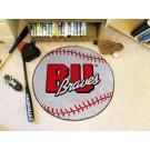 """27"""" Round Bradley Braves Baseball Mat"""