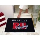 """34"""" x 45"""" Bradley Braves All Star Floor Mat"""