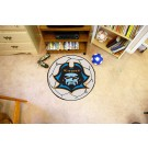 """East Tennessee State Buccaneers 27"""" Round Soccer Mat"""