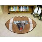 "22"" x 35"" Maine Black Bears Football Mat"