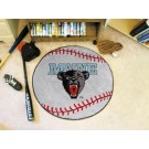 """27"""" Round Maine Black Bears Baseball Mat"""