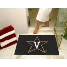 "34"" x 45"" Vanderbilt Commodores All Star Floor Mat"