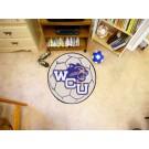 "27"" Round Western Carolina Catamounts Soccer Mat"