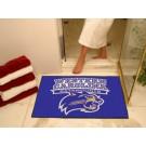 "34"" x 45"" Western Carolina Catamounts All Star Floor Mat"