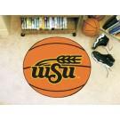 "27"" Round Wichita State Shockers Basketball Mat"