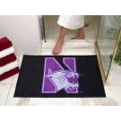 "Northwestern Wildcats 34"" x 44.5"" All Star Floor Mat"
