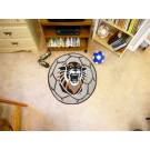 """27"""" Round Fort Hays State Tigers Soccer Mat"""