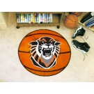 """27"""" Round Fort Hays State Tigers Basketball Mat"""