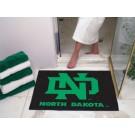 """North Dakota  Hawks 34"""" x 45"""" All Star Floor Mat"""