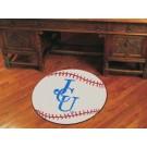 "27"" Round John Carroll Blue Streaks Baseball Mat"