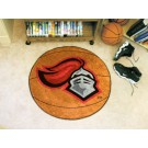 "27"" Round Rutgers Scarlet Knights Basketball Mat"