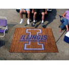 5' x 6' Illinois Fighting Illini Tailgater Mat