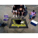 5' x 6' Michigan Tech Huskies Tailgater Mat