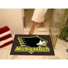 "34"" x 45"" Michigan Tech Huskies All Star Floor Mat"