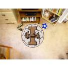 "27"" Round Idaho Vandals Soccer Mat"