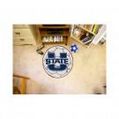"27"" Round Utah State Aggies Soccer Mat"