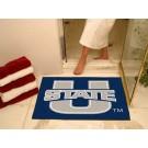 """34"""" x 45"""" Utah State Aggies All Star Floor Mat"""