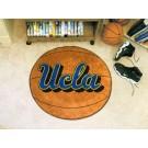 """27"""" Round UCLA Bruins Basketball Mat"""