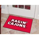 "Louisiana (Lafayette) Ragin' Cajuns 19"" x 30"" Starter Mat"