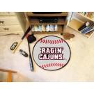 """Louisiana (Lafayette) Ragin' Cajuns 27"""" Round Baseball Mat"""