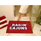 "Louisiana (Lafayette) Ragin' Cajuns 34"" x 45"" All Star Floor Mat"
