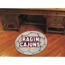 "Louisiana (Lafayette) Ragin' Cajuns 27"" Round Soccer Mat"