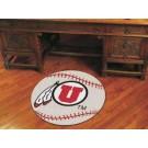 "27"" Round Utah Utes Baseball Mat"