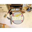 "27"" Round Toledo Rockets Baseball Mat"