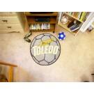 "27"" Round Toledo Rockets Soccer Mat"