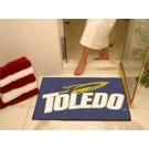 "34"" x 45"" Toledo Rockets All Star Floor Mat"
