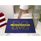 "34"" x 45"" Michigan Wolverines All Star Floor Mat"