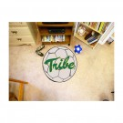 "27"" Round William & Mary Tribe Soccer Mat"