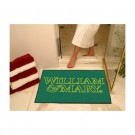 "34"" x 45"" William & Mary Tribe All Star Floor Mat"