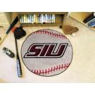 """27"""" Round Southern Illinois Salukis Baseball Mat"""