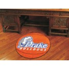 "Drake Bulldogs 27"" Round Basketball Mat"