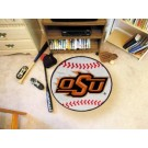 "27"" Round Oklahoma State Cowboys Baseball Mat"