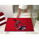 "34"" x 45"" Ball State Cardinals All Star Floor Mat"