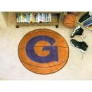 "27"" Round Georgetown Hoyas Basketball Mat"