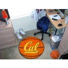 "27"" Round California (Berkeley) Golden Bears Basketball Mat"