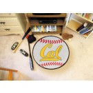 """27"""" Round California (Berkeley) Golden Bears Baseball Mat"""