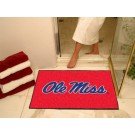 "Mississippi (Ole Miss) Rebels 34"" x 45"" All Star Floor Mat"