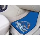 """Boise State Broncos 27"""" x 18"""" Auto Floor Mat (Set of 2 Car Mats)"""