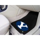 "Brigham Young (BYU) Cougars 27"" x 18"" Auto Floor Mat (Set of 2 Car Mats)"