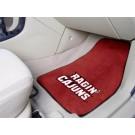 "Louisiana (Lafayette) Ragin' Cajuns 27"" x 18"" Auto Floor Mat (Set of 2 Car Mats)"